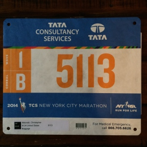 the bib all ready to rock for tomorrow