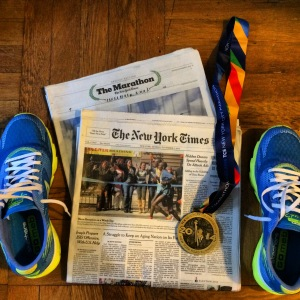 the New York Times marathon coverage