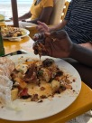 African style eating...